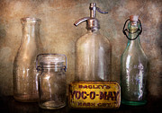 Can Prints - Collector - Bottle - Container Collection  Print by Mike Savad