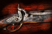 Fire Arm Prints - Collector - Gun - Rifle Works  Print by Mike Savad