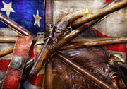 God Bless America Prints - Collector - Guns - How the war was won  Print by Mike Savad