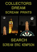 Edvard Munch Mixed Media Posters - Collectors Dream Poster by Eric Kempson