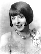 1920s Hairstyles Prints - Colleen Moore, Ca. Late 1920s Print by Everett