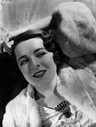 Hurrell Photo Posters - Colleen Moore,  Portrait By Hurrell Poster by Everett