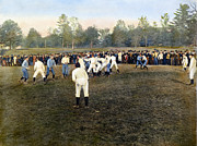 American League Posters - College Footbal Game, 1889 Poster by Granger