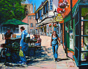 Buildings Paintings - College Street York by Neil McBride