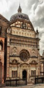 Chapels Prints - Colleoni Chapel Print by Jeff Kolker