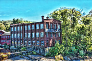 Factory Mixed Media - Collins AXE Factory 5 HDR by Edward Sobuta