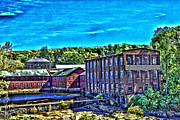 Factory Mixed Media - Collins AXE Factory 6 HDR by Edward Sobuta