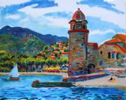 Collioure Framed Prints - Collioure Framed Print by Vladimir Kozma
