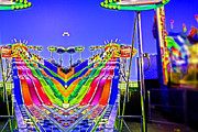 Slide Photo Prints - Collision Course-A Day at the Fair Print by Douglas Barnard