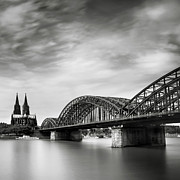 Cologne Prints - Cologne Dome Print by Nina Papiorek