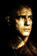 Officer Digital Art Prints - Colonel Kurtz Print by Andrea Barbieri