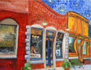Charming Town Paintings - Colonel Littleton of Lynnville Tn  by Lynn Weatherford