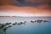 Water Over Rock Photos - Colonia Del Sacramento by Photo by Jim Boud