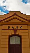 Restored Home Framed Prints - Colonial Bank Building Framed Print by Paul Donohoe