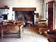 Ladles Photos - Colonial Kitchen by Susan Savad