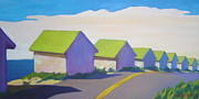Province Town Paintings - Colonized by Patricia A Griffin