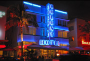 Frank Ocean Art Posters - Colony Hotel on Ocean Drive Poster by Frank Mari