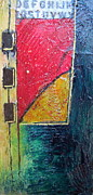 Yello Paintings - Color Block by Nancy Eaton