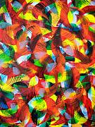 Abstract And Or Expressionistic Work - Color In Motion by Charles Peck