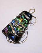 Fused Glass Jewelry - Color of Dreams by Jeannie Capranica