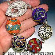 Colorful Jewelry - Color Rounds by Laura Bracken