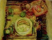 Color Study February Print by Jana Barros