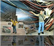 Colorado-california Art Book Cover Print by Glenn Bautista