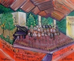 Colorado Childrens Chorale Print by Laurie Maves
