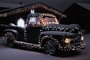Bob Berwyn Photos - Colorado Christmas Truck by Bob Berwyn