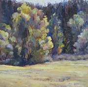 Fall Prints Paintings - Colorado Colors by Bonnie Goedecke