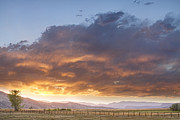 Sunset Photography Prints Prints - Colorado Evening Light Print by James Bo Insogna