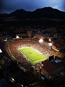 Framed Print Posters - Colorado Folsom Field  Poster by University of Colorado