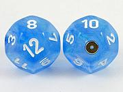 Colorado Jewelry - Colorado Frost D12 Magnets by World of Dice