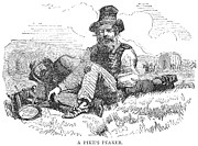1859 Prints - Colorado: Gold Miner, 1859 Print by Granger
