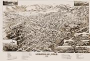 Leadville Framed Prints - Colorado: Leadville, 1882 Framed Print by Granger