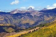 Colorado Mountains 1 Print by Marty Koch