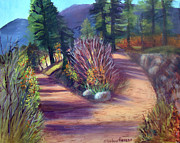 Pathways Painting Originals - Colorado Paths by Stephen  Hanson