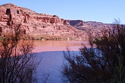 Colorado River After Rain - Utah Print by Dany  Lison