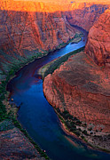 Colorado Stream Posters - Colorado River Bend Poster by Inge Johnsson