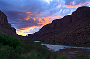 Arches National Park Originals - Colorado River Sunset by Adam Pender