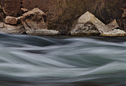 Rushing Photos - Colorado River Waves by Dave Dilli
