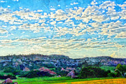Hdr Mixed Media Posters - Colorado Skies 1 Poster by Angelina Vick