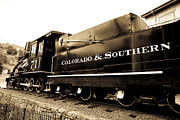Central Colorado Framed Prints - Colorado Southern Railroad 1 Framed Print by Marilyn Hunt