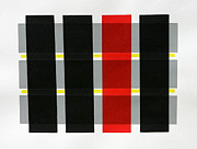 Prints Reliefs Originals - Colored Bars by Scott Shaver