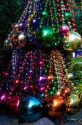 Colorful Baubles Print by Christopher Holmes