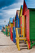 Cliff C Morris Jr - Colorful Beach Houses at...