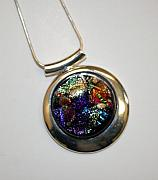 Fused Glass Jewelry - Colorful Beauty by Jeannie Capranica
