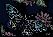 Jennifer Jeffris - Colorful Butterfly