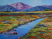 Billie Colson Paintings - Colorful Colorado by Billie Colson