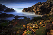 Atardecer Framed Prints - Colorful cove 2 Framed Print by Fernando Alvarez